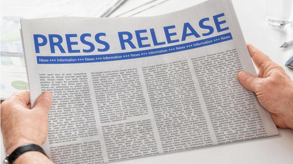 Geraci Press Release